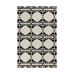 Surya - Surya Frontier FT-466 (White, Jet Black) 8' x 11' Rug - Frontier Collection features a series of flat-weave reversible designs with tribal and casual themes. Hand woven in India, these rugs are produced from the finest wool with unique patterns designed to enrich any room. Fashionable, durable and affordable, these styles are sure to update any decor.
