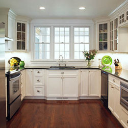 White painted kitchen - TeddWood cabinetry