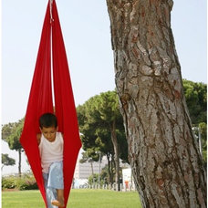 Contemporary Outdoor Swingsets by Dream Gym
