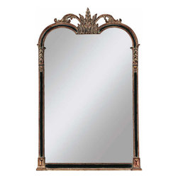 Paragon - Black/Gold Napoleon - Mirrors Decorative - Each product is custom made upon order so there might be small variations from the picture displayed. No two pieces are exactly alike.