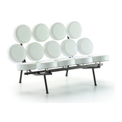 Fine Mod Imports - Modern Circle Sofa in White - Features: