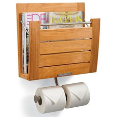 contemporary magazine racks by FRONTGATE