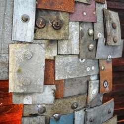 STUDIO Art and wall light V2- Limited Edition -100% recycled Napa barrels -