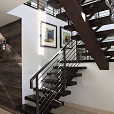 Modern Staircase by Lazar Design+Build