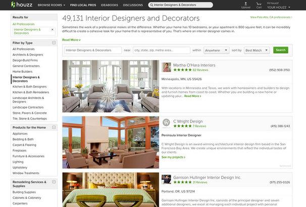 Find an Interior Designer or Decorator