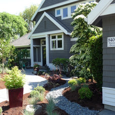 Traditional Exterior by Drager Architecture