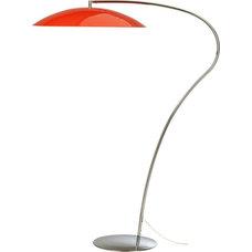 atomic lobster arc floor lamp in floor lamps | CB2