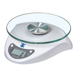 Taylor - Biggest Loser 6.5lb Digital Food Scale - Biggest Loser Taylor 6.5 lb Digital Food Scale with Glass Top lithium battery included.