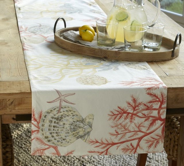 Tropical Tablecloths by Pottery Barn