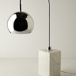 Anthropologie - Handmade Carrara Lamp - *Marble; metal