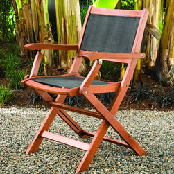Phat Tommy - Sea Breeze Folding Armchair (Set of 2) - These folding armchairs from Phat Tommy are perfect for any outdoor space. These chairs combine style,comfort and rugged durability