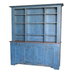 ecofirstart - Columbia Cupboard - Bring old-world charm to your dining space while showcasing your eco-conscious attitude. This rustic cupboard is fashioned from sustainable wood and organic paint to create the feeling of simpler times in your decor.