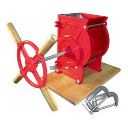 Weston - Weston Apple & Fruit Crusher - Apple-n-Fruit Crusher simply mashes apples,pears and other hard fruitsWeston kitchen appliance makes for a fun,family activityHome appliance features hardwood drum with stainless steel crushing blades