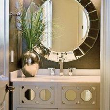 Contemporary Powder Room by ReStyle Group