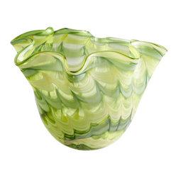 Cyan Design - Francisco Bowl - Small - Small francisco bowl - green and yellow