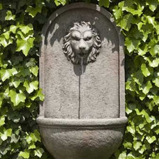 Traditional Outdoor Fountains And Ponds by SerenityHealth