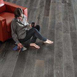 Palladio Wide Plank Hardwood Floor - Palladio Antique Oak Hardwood Floor
