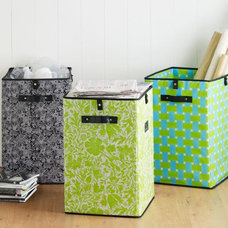 Eclectic Waste Baskets by RSH