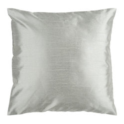 Slate Gray 18 x 18 Pillow