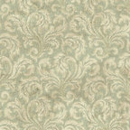 York Wallcoverings - PS3859 Wallpaper, Sample - Prepasted: Paste has already been applied to the back of the wallpaper and is activated with water.