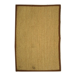 Safavieh - Safavieh Natural Fiber Casual Rug X-212-B511FN - Hand-woven with natural sea grass, this casual area rug is innately soft and durable. This densely woven rug will add a warm accent and feel to any home. The 100-percent Cotton canvas backing adds durability.