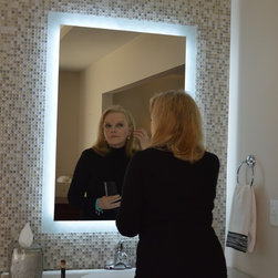 """Lighted Mirrors for every Bath MAM93644  36"""" wide x 44"""" tall -"""