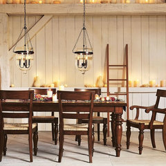 traditional  Pottery Barn dining room