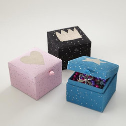 Sparkle Mini Collection Box - These are the perfect little bookshelf accents.