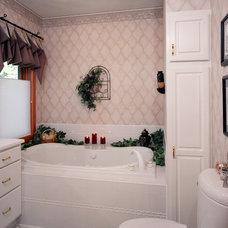 Traditional Bathroom by Lori Falk Interior Design