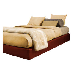 Avanti Queen Sized Platform Bed and Headboard Kit
