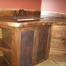 Eclectic Bathroom Vanities And Sink Consoles by Rustic Blues