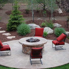 Contemporary Fire Pits by Warming Trends