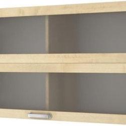 Mikael Warnhammar - VÄRDE Glass-door wall cabinet - Glass-door wall cabinet, birch