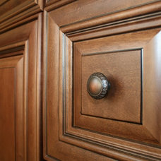 Traditional Kitchen Drawer Organizers by Crabbe Construction