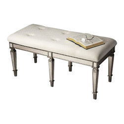 Butler Specialty - Butler Specialty Bench -3034146 - Butler products are highly detailed and meticulously finished by some of the best craftsmen in the business.