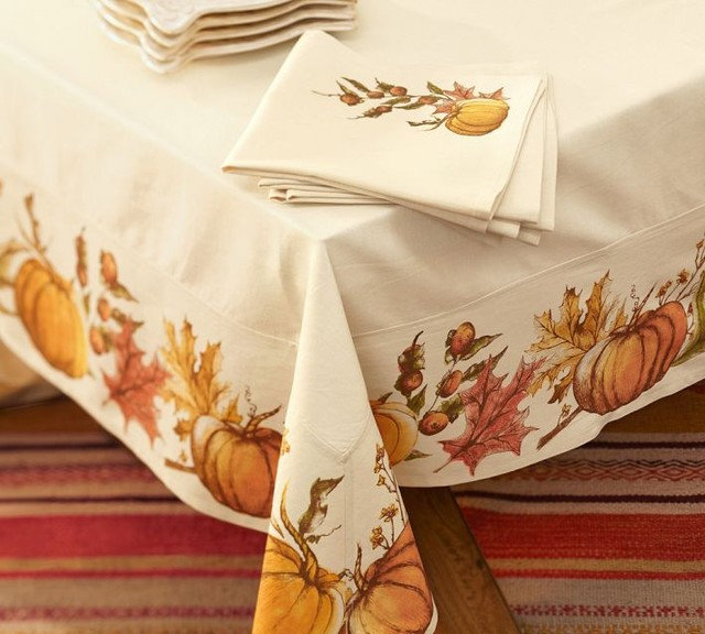 Contemporary Tablecloths by Pottery Barn