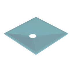 "Tuff-Form 21000 Shower Base 35-1/2"" x 35-1/2"""