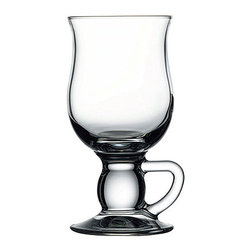 Hospitality Glass - 5.75H x 2 3/4T x 2 3/4B 9 oz Irish Coffee Cups 24 Ct - 9 oz Irish Coffee
