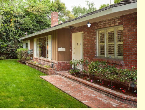 Matching exterior colors with faded red brick?