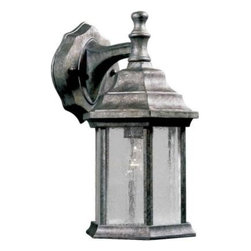 Illumine - Illumine Outdoor Lanterns. 1-Light Outdoor River Rock Lantern with Clear Seeded - Shop for Lighting & Fans at The Home Depot. The Burton Collection supplied by CLI features a wide variety of classic fixtures. If you are looking for a sensible way to dress up a room, there is no better choice than this 1-Light Outdoor Lantern in a River Rock Finish complimented by clear seeded glass panels. From the modest chandeliers to the more rustic outdoor lighting, the Burton collection will add a charming accent to any application.