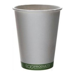 Eco-products 12 Oz Greenstripe Hot Cup - Case Of 1000 - 12 oz. GreenStripe Hot Cup