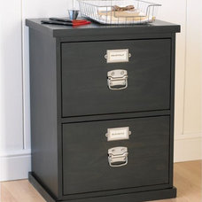 Traditional Filing Cabinets And Carts by Pottery Barn