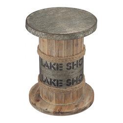 Sterling Industries - Lake Shore-Lake Shore Stool - Lake Shore-Lake Shore Stool