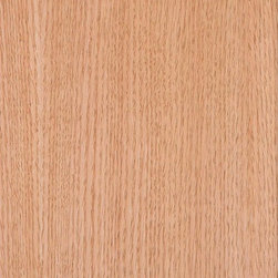 Red Oak Rift Cut Wood Wallpaper, 3' X 10' Sheet - Content: Prefinished Real Wood Veneer