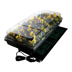 "Hydrofarm - Hydrofarm Germination Station W/heat Mat 72cell 2"" Dome - Hydrofarm Germination Station W/heat Mat 72cell 2"" Dome"