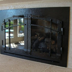 Custom Fireplace Door - Ironhaus is renowned for our distinctive design, unparalleled craftsmanship, and meticulous attention to detail. There is no better example of that than in our gas fireplace doors & screens.