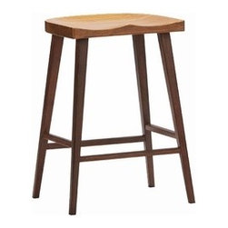 "Greenington - Greenington | Salix Stool, Set of 2 - Smooth lines and simplicity make the Salix Stool perfect for traditional and modern decor themes alike. Enhance your dining area with a little elegance and comfort with the Salix Stool. Choose from counter height (26"" H) or bar height (30"" H). Sold as a set of 2. Greenington uses mature Moso bamboo. It is the best species of bamboo due to its hardness, durability and stability — plus pandas do not feed on Moso bamboo. All Greenington bamboo furniture is made of 100% bamboo with no added filler, fiberboard, MDF or other materials. Periodic cleaning can be done using a soft cloth and a gentle cleaner designed for wood furniture.Made from Exotic Bamboo which is 100% stronger than oak, the Salix Stool is available with a Caramelized finish."