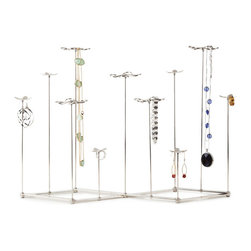 Lovely Garden Jewelry Tree - Your favorite jewelry will be dancing on our Lovely Garden Jewelry Tree. The varying heights of each flower allow jewelry of all sizes to be displayed and appreciated.