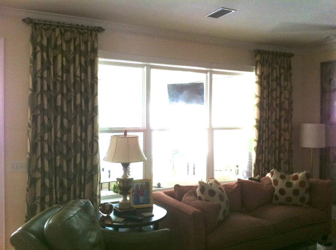 Traditional Window Treatments by Curtain Pros