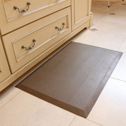 "SATECH, Inc. - SmartCells Anti-Fatigue 2X3 BasketWeave Mat - SmartCells® Anti-Fatigue Mat in a stylish basket weave pattern features molded-in rubber edging and an 8 year warranty.  Ideal for ""dressing up"" your settings."